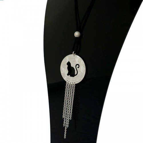Collier long chat
