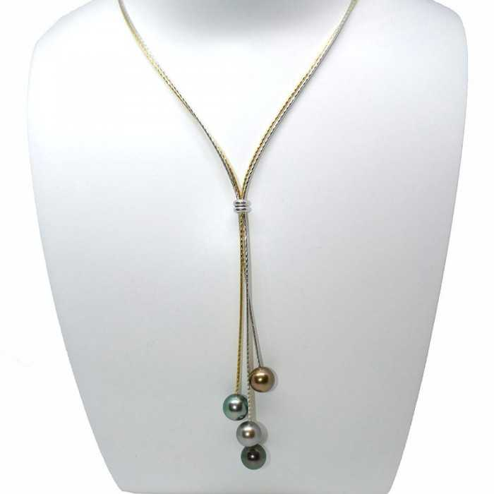 Cascade Collier de perles de Tahiti