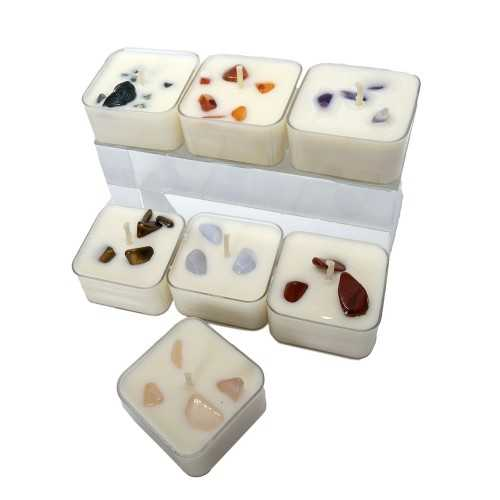 Mini bougies assorties