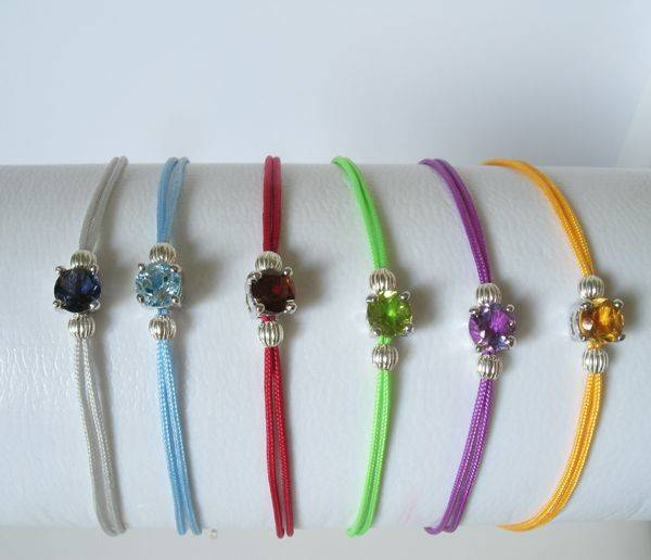 Bracelets fins pierre semi précieuse